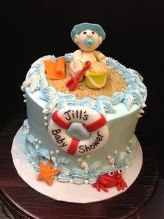 Plumeria Cake Studio: Beach Themed Baby Shower