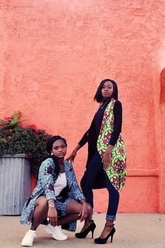 Stylelabdesigns fall winter dress jackets pants collection african ankara prints Ankara Jackets, Dress Jackets, Jacket Dress, Fall Fashion Outfits, Autumn Fashion, Winter Collection, Kimono Top, Fall Winter, African