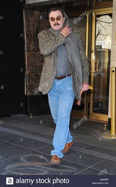 Download this stock image: Tom Selleck. Tom Selleck seen going to work on his TV show 'Blue Bloods' in New York City. - K6NP8F from Alamy's library of millions of high resolution stock photos, illustrations and vectors.