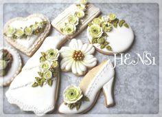 #1 Garden Wedding Cookies by HENS1