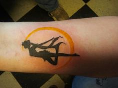 Another pinner said: The exact sailor moon tattoo I want.  And I think we're going to have matching tattoos!