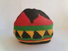 Rasta hat by HandmadeMaryStore on Etsy