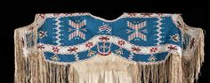1890 beaded Lakota dress