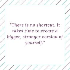 """""""There is no shortcut. It takes time to create a bigger stronger version of yourself."""" #Jamberry #JamStrong"""