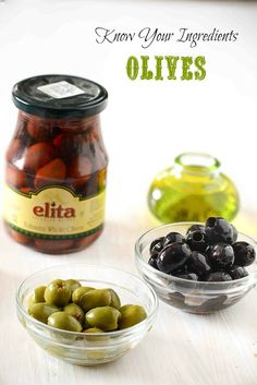 Know Your Ingredients Olives