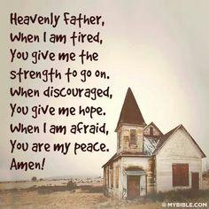 Prayer of comfort