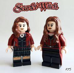 Scarlet witches #legoscarletwitch