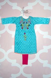 Sky Blue Party wear kids kurti with tights Pakistani Kids Dresses, Pakistani Clothes Online, Pakistani Outfits, Dresses Online Usa, Blue Party, Kids Online, Party Wear, Kurti, Kids Outfits
