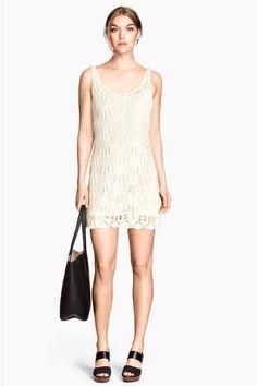 Vestido de encaje en punto | H&M 30e
