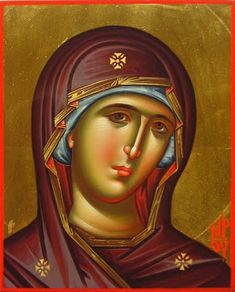 Daniel Neculae is a Romanian iconographer living in Luxembourg. He has a BA in Byzantine iconography from Bucharest University. Archangel Gabriel, Archangel Michael, Religious Icons, Religious Art, Madonna, Mark The Evangelist, Good Shepard, Religious Paintings, Blessed Mother Mary