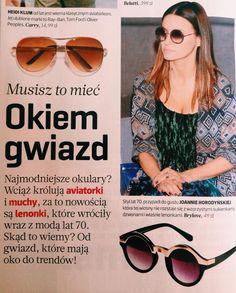 Joanna Horodyńska w lenonkach od Brylove  Kto z Was nabył juz swoją parę?  #musthave #brylove