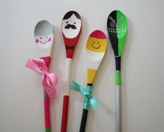 1000 images about pollepel figuren on pinterest wooden - Cheap wooden spoons for craft ...