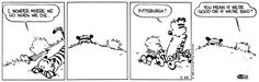 Pittsburgh: Calvin and Hobbes Comic Strip