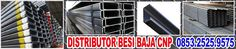 Distributor Besi Baja Cnp Surabaya – 0853.2525.9575 | Bu Elsye 0853.2525.9575 Distributor Besi Baja CNP, Jual Besi Baja CNP Murah Berkualitas di Surabaya ukuran 60 75 100 125 150 200