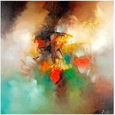 Trademark Fine Art Abstract I Canvas Art by Rio, Size: 24 x 24, Multicolor