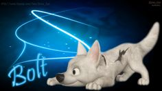 Wallpaper of Graphic Art Disney Bolt Wallpaper HD for fans of Disney's Bolt 32484779 Wallpaper Gallery, Of Wallpaper, Disney Wallpaper, Cartoon Wallpaper, Puppies Wallpaper, Free Cartoons, Disney Cartoons, Disney Movies, Bolt Dog