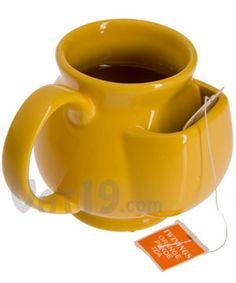 Pouch Tea Mug - I want one.