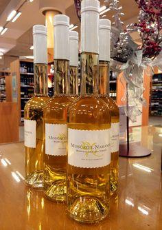 Vino dulce aromatizado con naranja