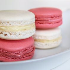 Basic French Macarons. Great basic macaron recipe. Can make tons of varieties based off of this. Favorites I've tried so far are classic vanilla and peppermint.
