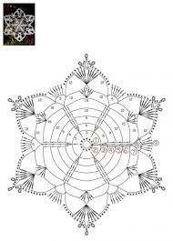 How To Knit: Crochet snowflakes, free crochet pattern Crochet Snowflake Pattern, Christmas Crochet Patterns, Crochet Snowflakes, Crochet Mandala, Crochet Motif, Christmas Knitting, Free Crochet, Knit Crochet, Crochet Stitches Chart