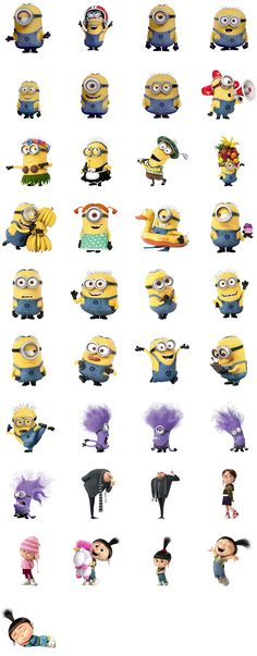New Despicable Me 2 Minions Wallpaper & Fan Art Collection Amor Minions, Minions Quotes, Despicable Me Party, Minions Despicable Me, Minion Party, Evil Minions, Minions 2014, My Minion, Minion Stuff