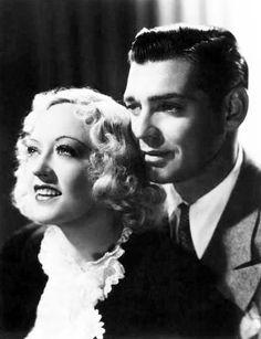 Marion Davies and Clark Gable