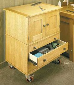 shop cabinets woodworking plan