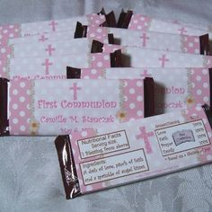 first+communion+party+favors | First communion personalized party favors are ... | First Communion P ...
