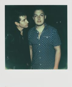 Alex turner and Matt helders Arctic monkeys ♡ Arctic Monkeys, Matt Helders, Library Pictures, Monkey 3, The Last Shadow Puppets, The Way He Looks, Alex Turner, Paramore, Music Bands
