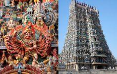 Meenakshi Amman Temple in Madurai, India / http://www.rostyleandlife.com/ro/pl/home/63-lifestyle-pl/podroze-pl/2099-podroze-ind