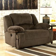 Signature Design by Ashley 5670152 Toletta Zero Wall Wide Seat Recliner | ATG Stores