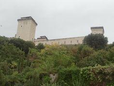 Spoleto vár, Albornoz erőd Clouds, Italy, Travel, Outdoor, Outdoors, Italia, Viajes, Destinations, Traveling