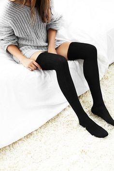 Free People Womens Montana Thigh High Sock