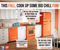This Fall, Cook Up Some Big Chill Fun!  I love this kitchen!