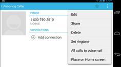 تحويل #مكالمات أي جهة اتصال بأندرويد للبريد الصوتي