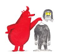 Bear With Me is a travelling sketch book project that has been touring the UK via the British postal service. 30 children's book illustrator...