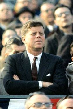 """John Fitzgerald Kennedy (May 29, 1917 – November 22, 1963), commonly known as """"Jack"""" or by his initials JFK, was the 35th President of the United States, serving from January 1961 until he was assassinated in November 1963.❤✾❤❁❤✾❤ http://en.wikipedia.org/wiki/John_F._Kennedy"""