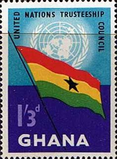 Ghana 1959 United Nations Trusteeship Council SG 236 Fine Mint SG 236 Scott 69 Condition Fine MNH Only one post charge applied on multipul purchases