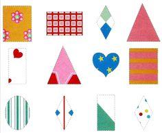 Подбери заплатку   Радуга Kids Patterns, New Print, Pattern Blocks, Matcha, Puzzle, Kids Rugs, Shapes, Teaching, Holiday Decor