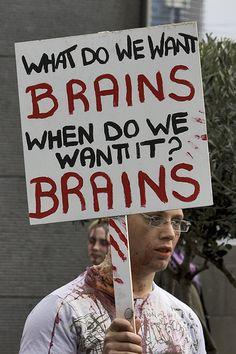 #Zombies #Brains #Zombie #Apocalypse