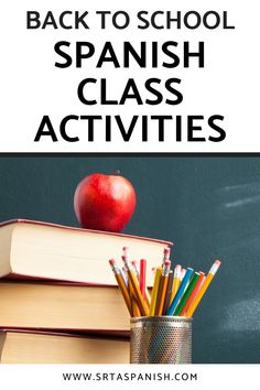 Are you looking for Back to School Activities for your Spanish class? Are you wondering what to do the 1st week of school in your Spanish classroom? Check out these awesome ideas for getting to know you activities, lesson plans for the first day of school, and a unit plan to start your Spanish curriculum off on the right foot! Your middle school and high school Spanish students will love these icebreaker activities and more! Click to read the post! Get To Know You Activities, Back To School Activities, Class Activities, Spanish Classroom, Teaching Spanish, Icebreaker Activities, Middle School Spanish, Spanish Lesson Plans, Classroom Displays