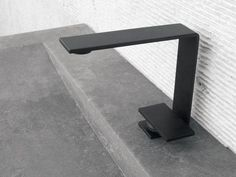 Single handle 1 hole washbasin mixer 5mm Line by Rubinetterie 3M   design OCO Studio Like the sink, too!