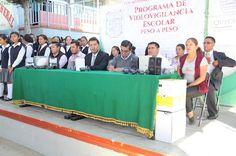 Continúa la entrega de cámaras de video vigilancia en Palmarito