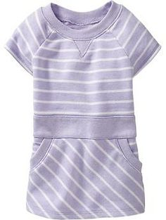 Striped Terry-Fleece Tunics for Baby   Old Navy (H)