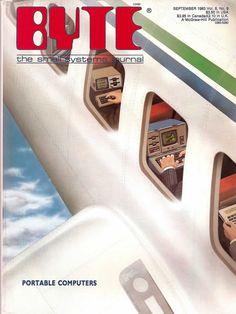 John Sommer Byte Magazine Covers