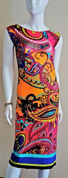 Colour  dream  female dress Small / Medium size by EwomanFashion, $90.00