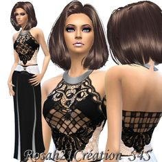 Sims 4 CC's - The Best: Dress by Sims Dentelle