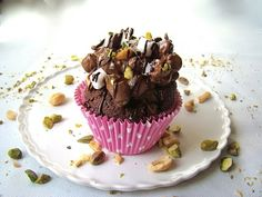 In Heidi's Kitchen: Rocky Road Cupcakes