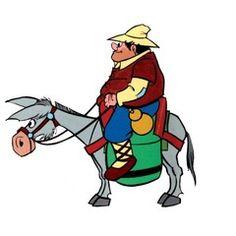 sancho panza y su burro - Buscar con Google