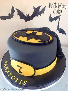 Bat Man Cake